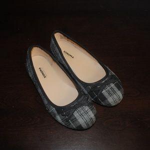 Sonoma Seesaw Black/Gray Plaid